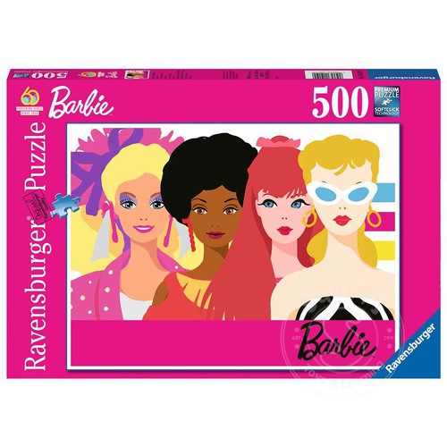 Ravensburger Ravensburger Barbie 60th Anniversary Puzzle 500pcs