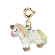 Charm It Charm It! Gold Unicorn Pinata Charm