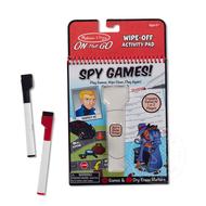 Melissa & Doug Melissa & Doug On the Go Write On Wipe Off Activity Pad - Spy Games!