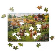 Melissa & Doug Melissa & Doug Natural Play Horse Adventure Puzzle 100pcs