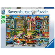 Ravensburger Ravensburger The Painted Ladies Puzzle 1500pcs