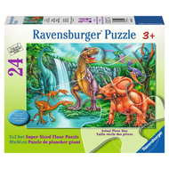 Ravensburger Ravensburger Dino Falls Floor Puzzle 24pcs