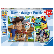 Ravensburger Ravensburger Disney Pixar Toy Story 4 In it Together Puzzle 3 x 49pcs