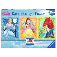 Ravensburger Ravensburger Disney Princess: Beautiful Disney Princesses Panorama Puzzle 200pcs