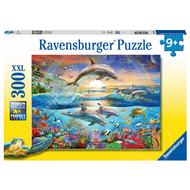 Ravensburger Ravensburger Dolphin Paradise Puzzle 300pcs XXL