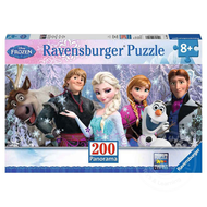 Ravensburger Ravensburger Frozen: Frozen Friends Panorama Puzzle 200pcs
