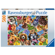 Ravensburger Ravensburger Funny Animal Selfie Puzzle 500pcs