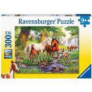 Ravensburger Ravensburger Horses by the Stream Puzzle 300pcs XXL