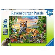 Ravensburger Ravensburger Jungle Tiger Puzzle 300pcs XXL