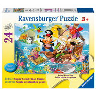 Ravensburger Ravensburger Land Ahoy! Floor Puzzle 24pcs