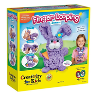 Creativity for Kids Creativity for Kids Finger Looping Bunny
