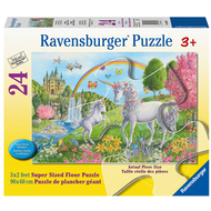 Ravensburger Ravensburger Prancing Unicorns Floor Puzzle 24pcs