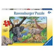 Ravensburger Ravensburger Safari Animals Puzzle 60pcs