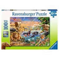 Ravensburger Ravensburger Savannah Jungle Waterhole Puzzle 100pcs XXL