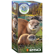 Eurographics Eurographics Save Our Planet Collection: Otters Puzzle 250pcs