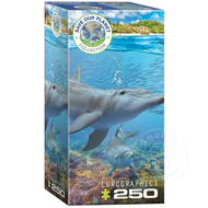 Eurographics Eurographics Save Our Planet Collection: Dolphins Puzzle 250pcs