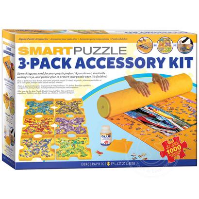 Eurographics Eurographics Smart Puzzle 3-Pack Accessory Kit