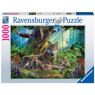 Ravensburger Ravensburger Wolves in the Forest Puzzle 1000pcs