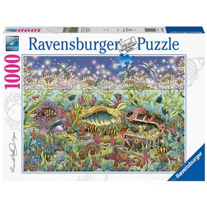 Ravensburger Ravensburger Underwater Kingdom at Dusk Puzzle 1000pcs