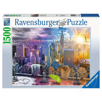 Ravensburger Ravensburger Seasons of New York Puzzle 1500pcs