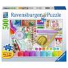 Ravensburger Ravensburger Needlework Station Large Format Puzzle 500pcs