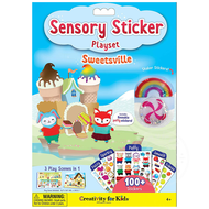 Creativity for Kids Creativity for Kids Sensory Sticker Playset Sweetsville