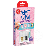 Klutz Klutz Velvet Animal Nail Studio