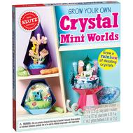Klutz Klutz Grow Your Own Crystal Mini Worlds