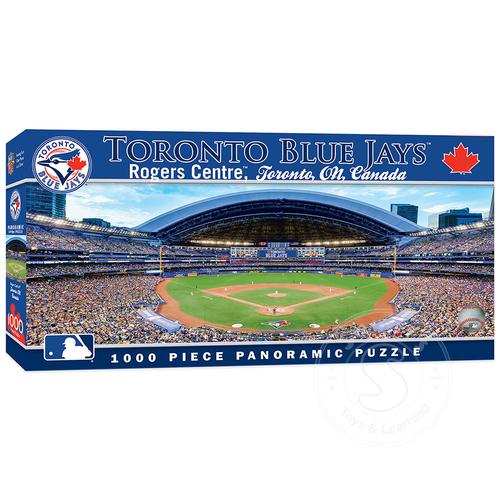 MasterPieces MLB Toronto Blue Jays Panoramic Puzzle 1000pcs