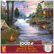 Ceaco Ceaco Weekend Retreat Cabin Lake Puzzle 1000pcs