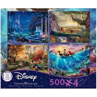 Ceaco Ceaco Thomas Kinkade Disney Collection Puzzle 4 x 500pcs