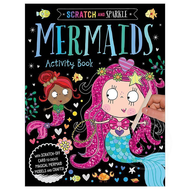 Make Believe Ideas Scratch and Sparkle Mermaids Activity Book