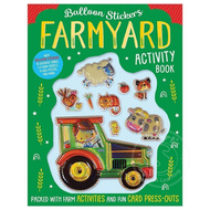 Make Believe Ideas Balloon Stickers Farmyard Activity Book