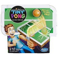 Hasbro Tiny Pong Solo Table Tennis Kids Electronic Handheld Game