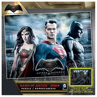 Buffalo Games & Puzzles Buffalo Dawn of Justice Glow in the Dark Puzzle 1000pcs
