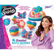 Shimmer 'n Sparkle Scented Bath Bombs