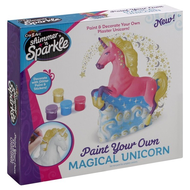 Shimmer 'n Sparkle Paint & Decorate Your Own Magical Unicorn
