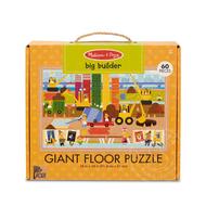 Melissa & Doug Melissa & Doug Natural Play Big Builder Floor Puzzle 60pcs