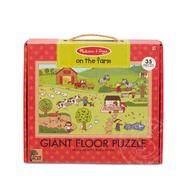 Melissa & Doug Melissa & Doug Natural Play On the Farm Floor Puzzle 35pcs