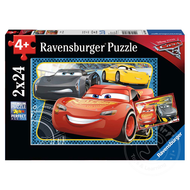 Ravensburger Ravensburger Disney Pixar Cars I Can Win! Puzzle 2 x 24pcs