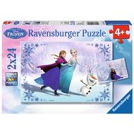 Ravensburger Ravensburger Frozen Sisters Always Puzzle 2 x 24pcs