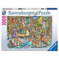 Ravensburger Ravensburger Midnight at the Library Puzzle 1000pcs