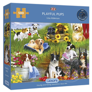Gibsons Gibsons Playful Pups Puzzle 500pcs