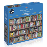 Gibsons Gibsons Authorful Puns Puzzle 1000pcs