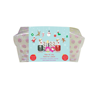 Suncoat Suncoat Girl Peelable Polish Make Me Jolly Holiday Beauty Kit