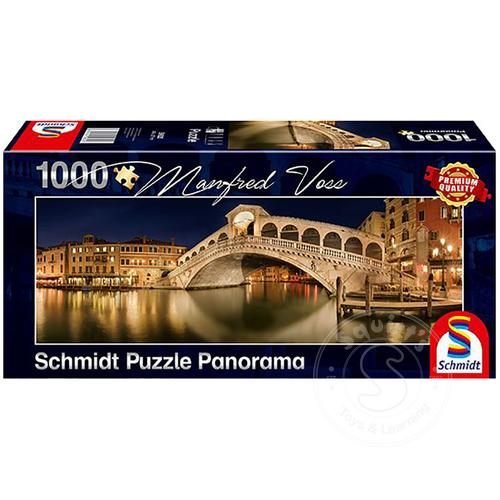Schmidt Schmidt Rialto Bridge Panorama Puzzle 1000pcs