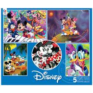 Ceaco Ceaco Disney 5 in 1 Puzzle