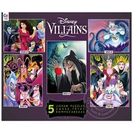 Ceaco Ceaco Disney Villains 5 in 1 Puzzle