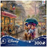 Ceaco Ceaco Thomas Kinkade Disney Mickey and Minnie in Paris Puzzle 300pcs