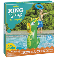 Toysmith Ring Fling Tricera-Toss